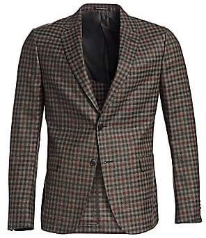 Ermenegildo Zegna Men's Deco Check Sportcoat