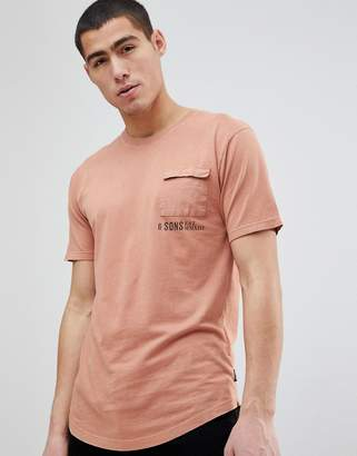 ONLY & SONS T-Shirt With Pocket Detail