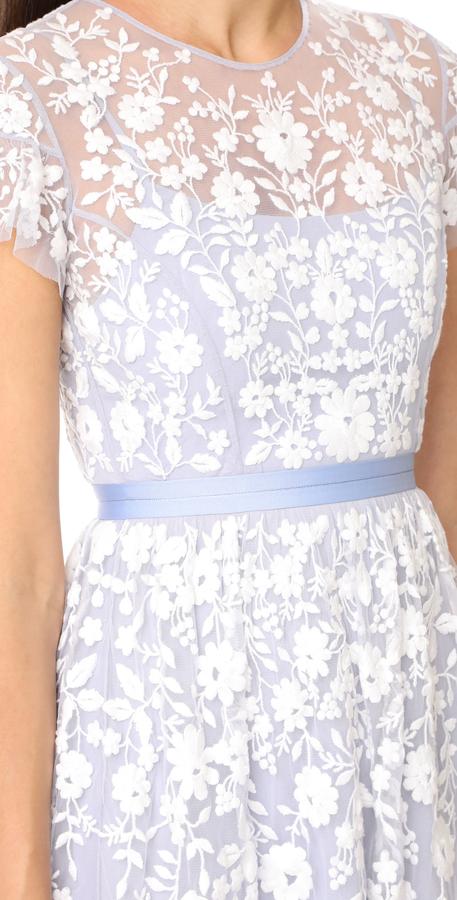 Needle & Thread Tulle Meadow Dress 3