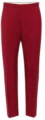 Marni Cropped wool cigarette pants