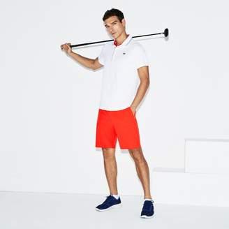 Lacoste Men's SPORT Stretch Taffeta Technical Golf Bermuda Shorts