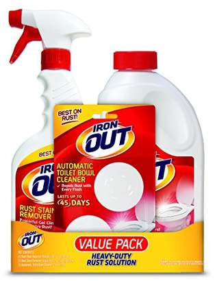 Iron OUT Rust Stain Remover Value Pack