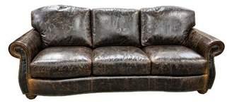 Omnia Leather Huntington Leather Standard Sofa Omnia Leather