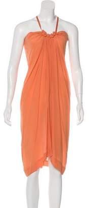 See by Chloe Silk Midi Dress