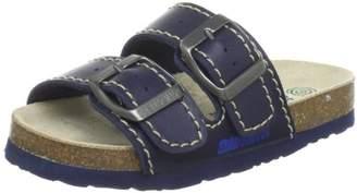 Dr. μ Dr. Brinkmann 505892 Unisex Kids mules, Blue (ocean), 27 EU