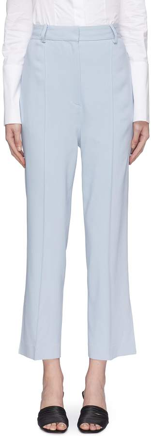 KHAITE 'Kyle' split cuff cropped suiting pants