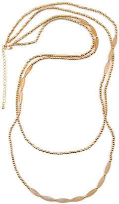 Arizona Womens 36 Inch Link Necklace