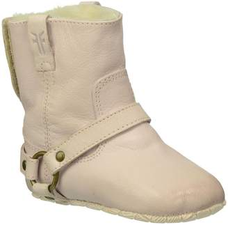 Frye Unisex Baby Harness Booties Shearling-CL - 3 Infant