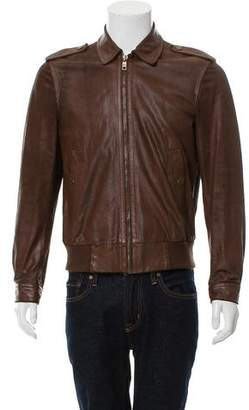 Marc Jacobs Casual Leather Jacket