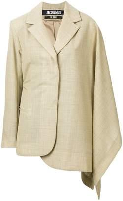 Jacquemus asymmetric long-sleeve blazer