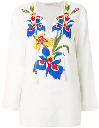 Tory Burch Iris beach tunic