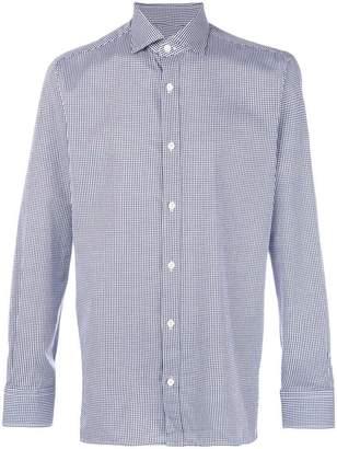 Ermenegildo Zegna check print shirt