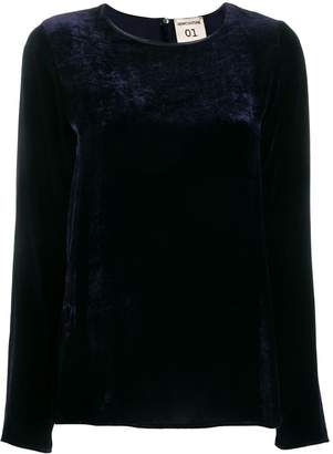 Semi-Couture Semicouture flared long-sleeve blouse