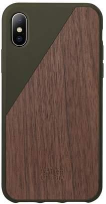 Native Union Wood Edition Clic iPhone X Case