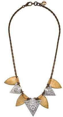 Lulu Frost Crystal Tribal Necklace $125 thestylecure.com
