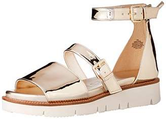 Nine West Women's SATORIA Synthetic Flat Sandal