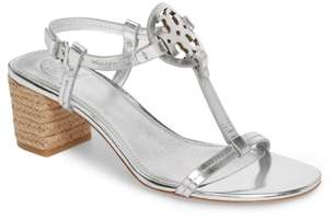 Tory Burch Miller Logo T-Strap Sandal