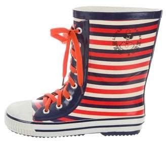 Little Marc Jacobs Girls' Rubber Rain Boots