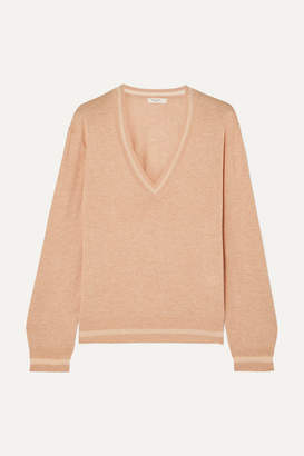 Rag & Bone Kento Mélange Pima Cotton Sweater - Pink