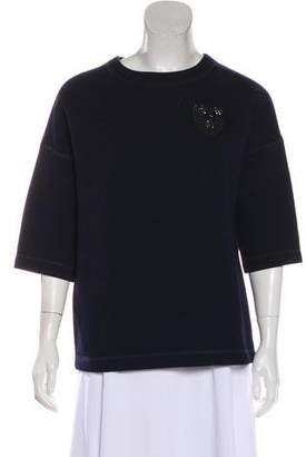 Christian Dior Embellished Knit Sweater