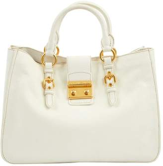 9d54f56a11f3 Miu Miu White Leather Bags For Women - ShopStyle UK