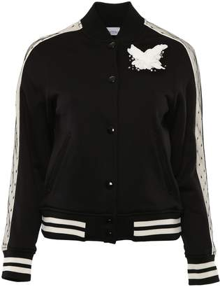 RED Valentino Bomber Jacket With Tulle
