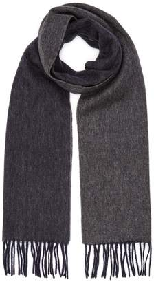 Reiss KINGSTON Lambswool Reversible Scarf
