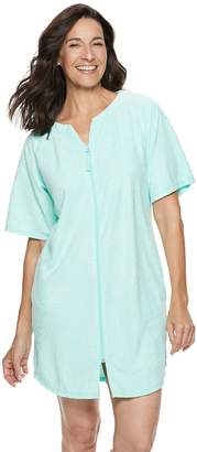 Croft & Barrow Women's Embossed French Terry Robe
