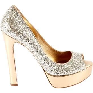 74696f31ba9 Silver Glitter Heels - ShopStyle