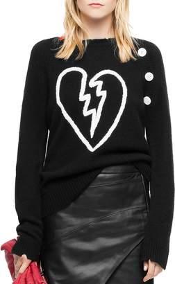 Zadig & Voltaire Reglis Bis Cashmere Sweater