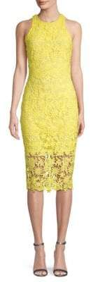 Alexia Admor Floral Lace Midi Dress