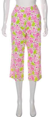 Lilly Pulitzer Mid-Rise Printed Pants