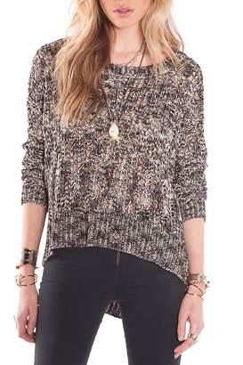 Amuse Society Levin Metallic Sweater