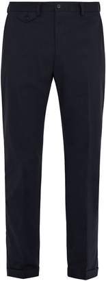 Dolce & Gabbana Slim-leg stretch-cotton chino trousers