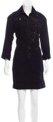 Gucci Corduroy Knee-Length Dress