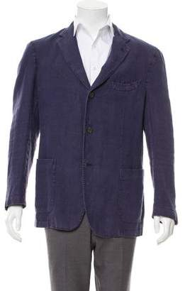 Boglioli Woven Button-Up Jacket