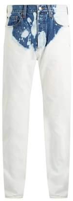Balenciaga - Bleached Straight Leg Jeans - Mens - White