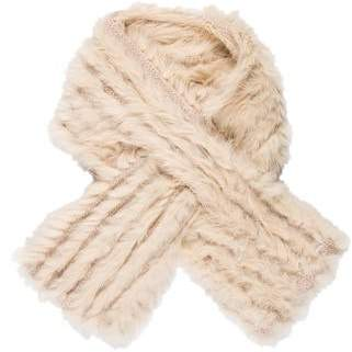 Marc by Marc Jacobs Fur Scarf