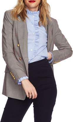 Court & Rowe Double Breasted Plaid Blazer