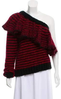 Philosophy di Lorenzo Serafini Mohair Striped Sweater