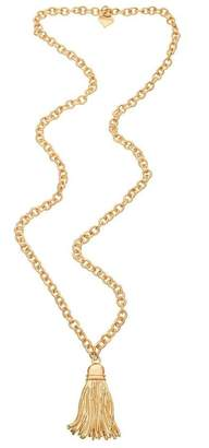 Fornash Long Tassel Necklace