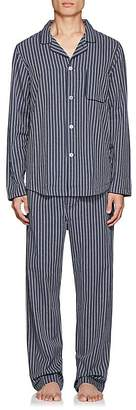 Derek Rose Men's Royal Cotton Pajama Set