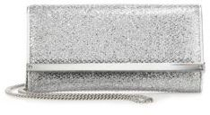 Jimmy Choo Jimmy Choo Milla Glitter Leather Fabric Wallet