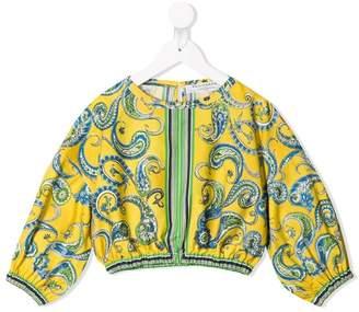 Philosophy di Lorenzo Serafini Kids paisley print blouse