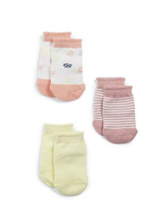 Mamas and Papas Baby Pack of 3 Every Day Special Girl Socks,Pack of 3