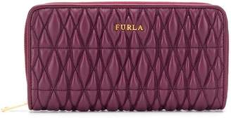 Furla quilted continental wallet