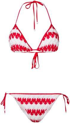 Missoni Mare zigzag knitted bikini