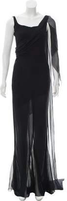 Chanel Silk Evening Gown