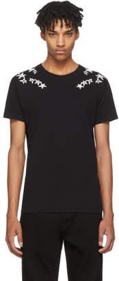 Valentino Black Punk Stars T-Shirt