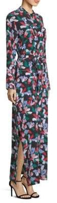 Equipment Britten Floral-Print Dress